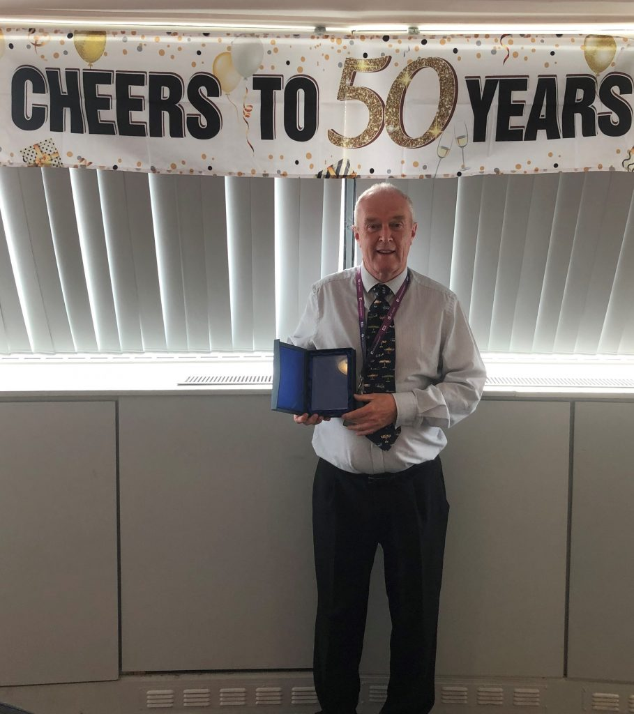 Bob Parry 50 years in ATC