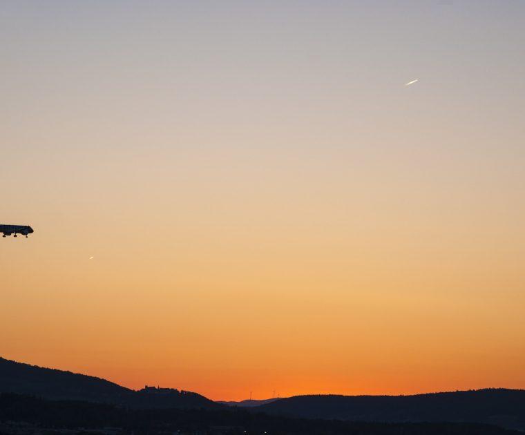 Remote Aircraft Twilight