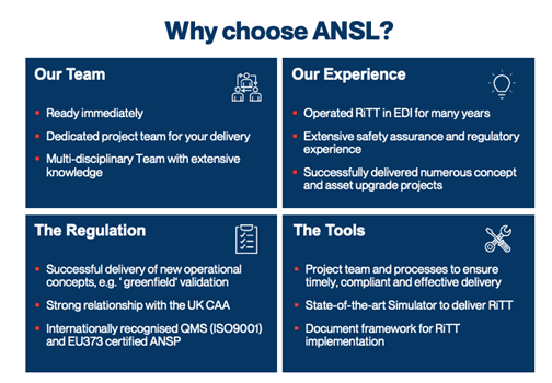 Why choose ANSL?